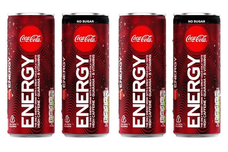 Coca-Cola a lansat prima sa băutură energizantă